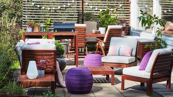 Terrassenmöbel für die Zeit im Garten