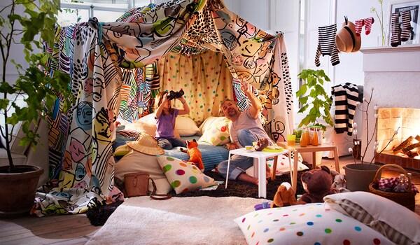 Textildeko Kinderzimmer