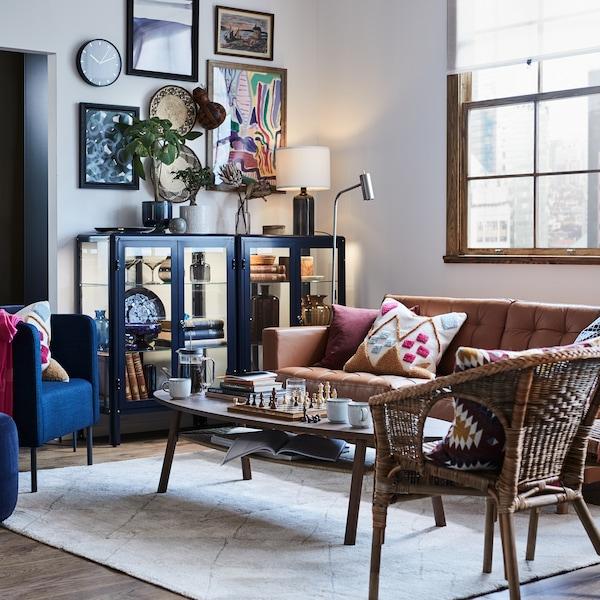 تفضل إلىمنزل يتمحور حولالعمل والعيش في مساحة واحدة مفتوحة.