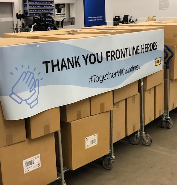 Thank you frontline heros