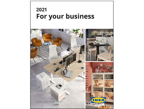 The 2021 IKEA for Business Catalogue