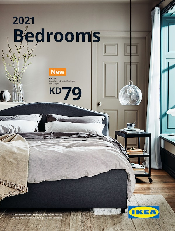 The cover of an IKEA Bedroom brochure.