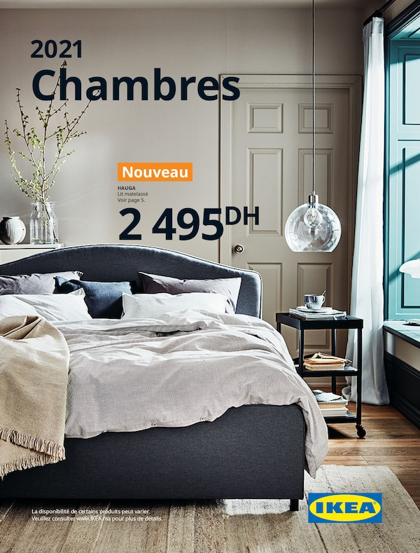 The cover of an IKEA Bedroom brochure