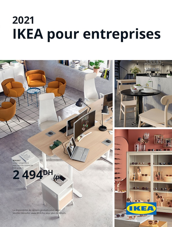 The cover of an IKEA Business brochure