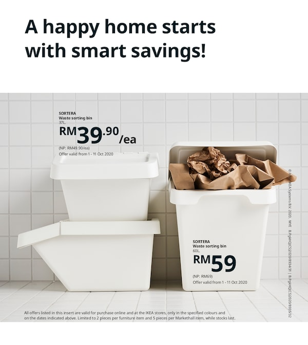 The cover of an IKEA Catalogue Insert