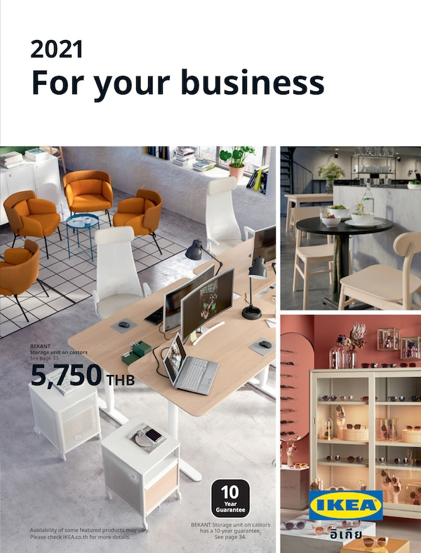 The cover of an IKEA For your business brochure.