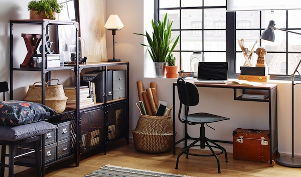 The home office, a place for more than just homework.