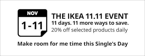 The IKEA 11.11 Offers