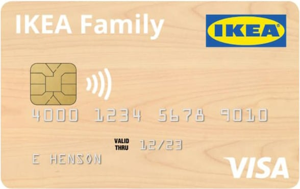 The IKEA Visa credit card