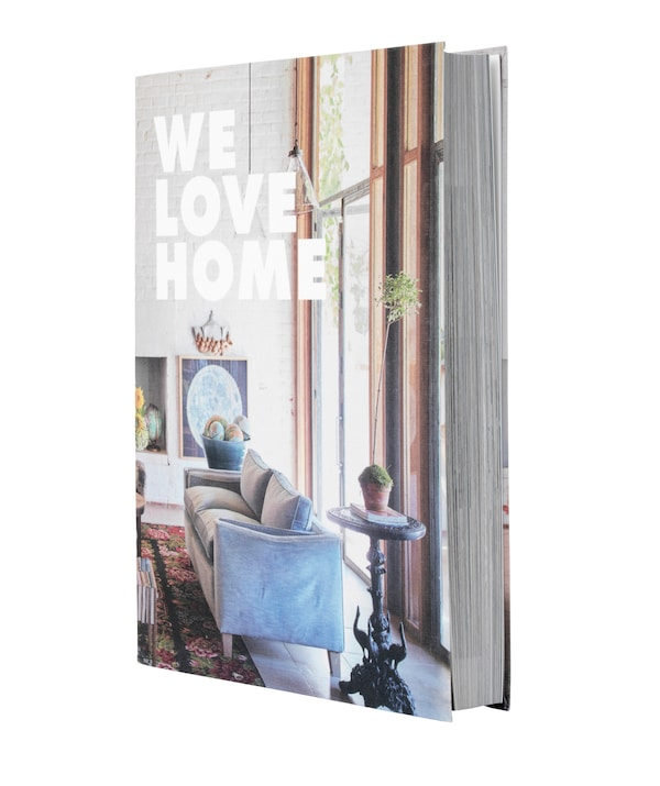 The IKEA We Love Home book.