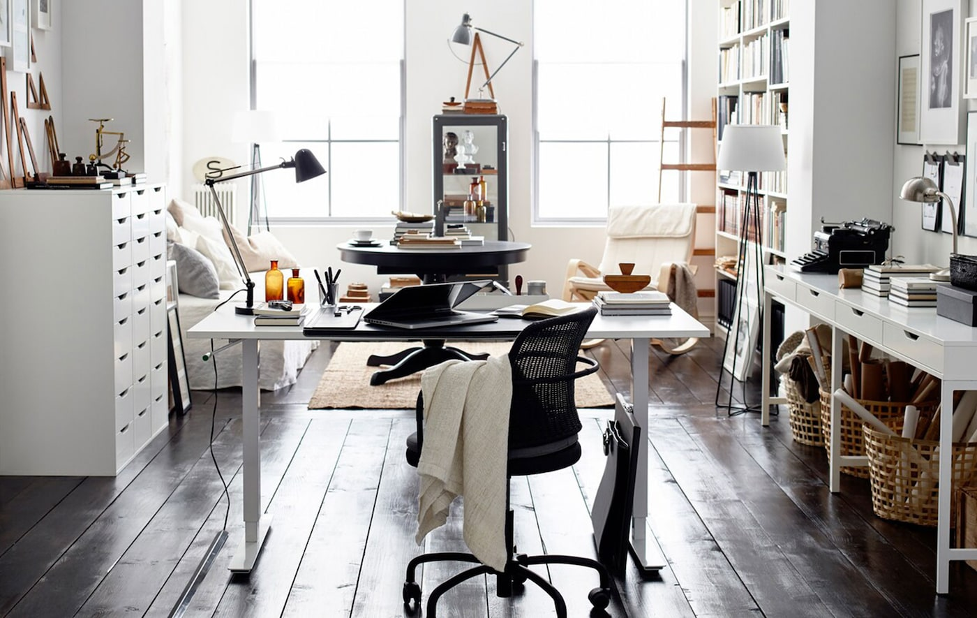 Rejuvenated Home Office Ads : IKEA Home