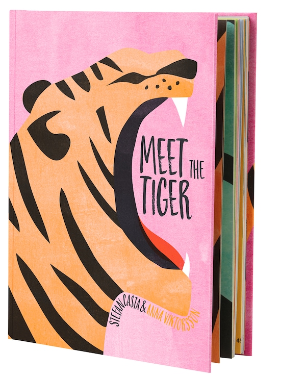 The new IKEA book for kids Meet the Tiger.
