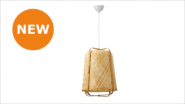 The new KNIXHULT Pendant lamp, bamboo
