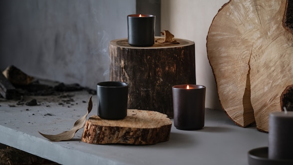 The new range of scented candles developed with Ilse Crawford.