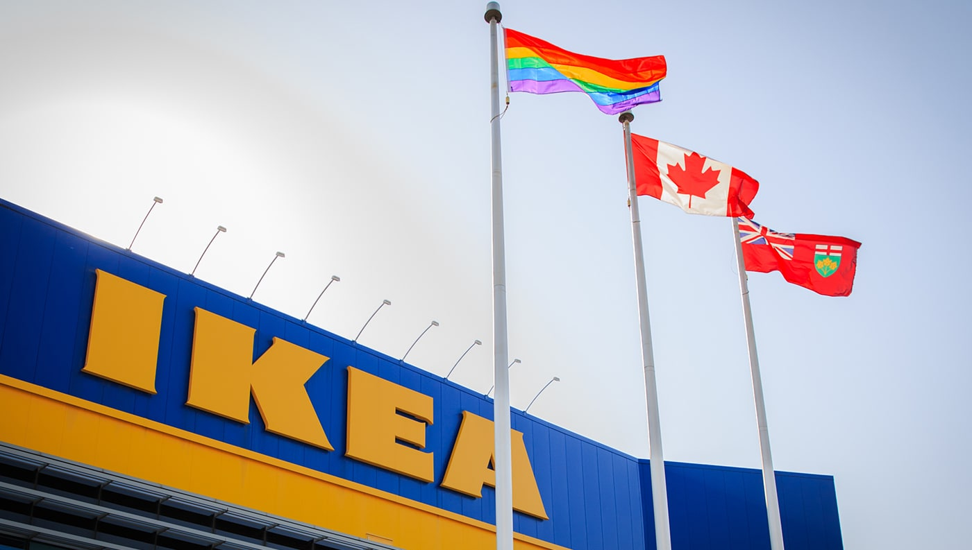 Ikea Canada Co Workers To March In Annual Toronto Pride