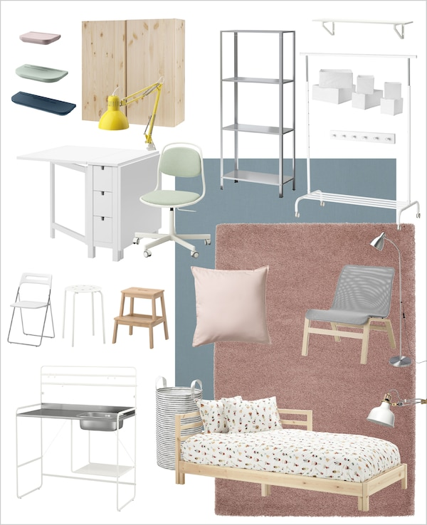 The right furniture and accessories are key to creating a really functional small space.