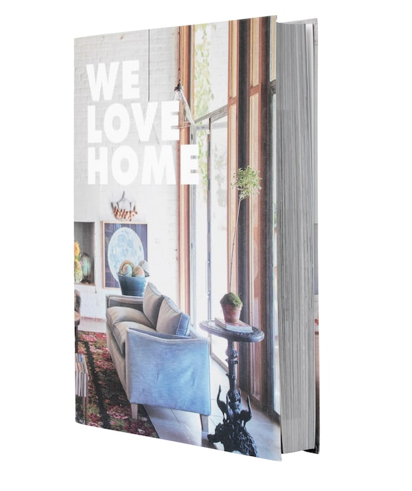 The We Love Home book cover.