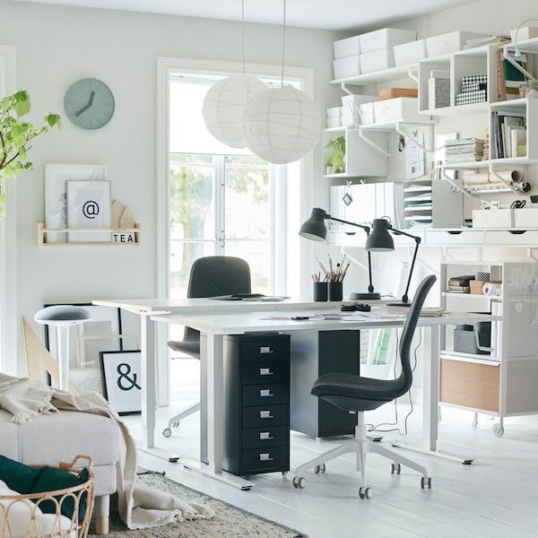 Stupendous Home Office Gallery Ikea Home Interior And Landscaping Spoatsignezvosmurscom