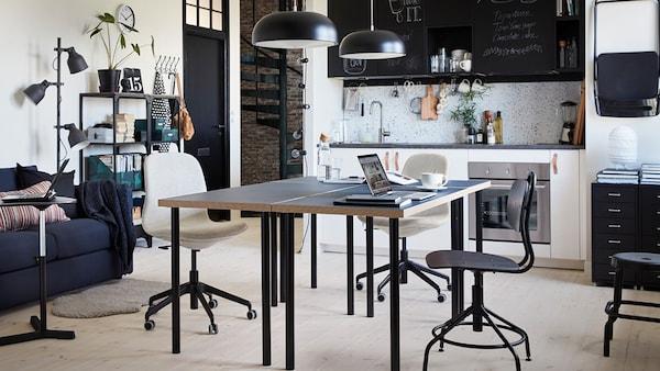 Tipps für die richtige Beleuchtung im Arbeitszimmer und Home Office