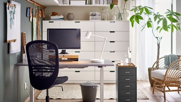 Tips for an inspiring home workspace.