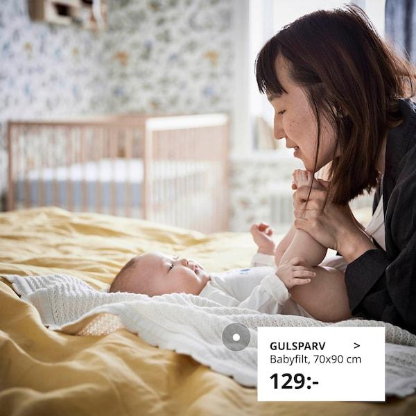Tips och information om bebisar, sömn samt tillhörande möbler och textilprodukter.
