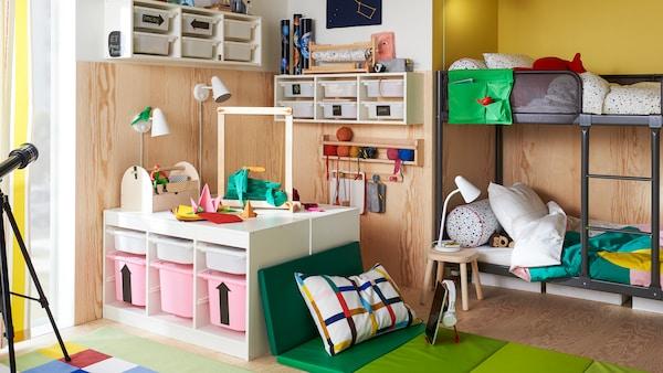 Tips voor het opbergen van de spullen van je kinderen