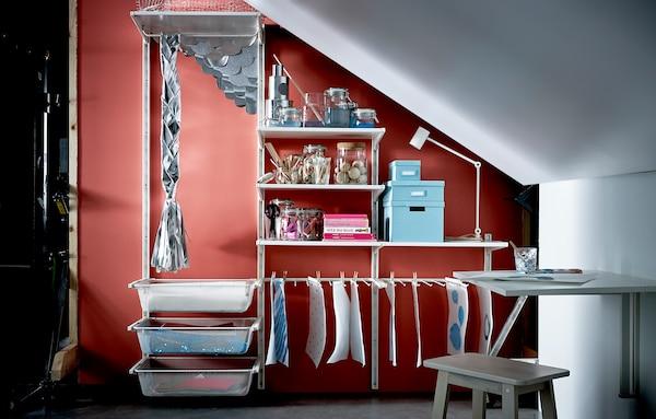 Dachschräge einrichten: mehr Platz zum Wohnen - IKEA