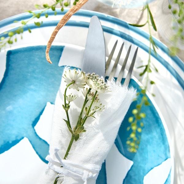 Tischdeko für Sommer