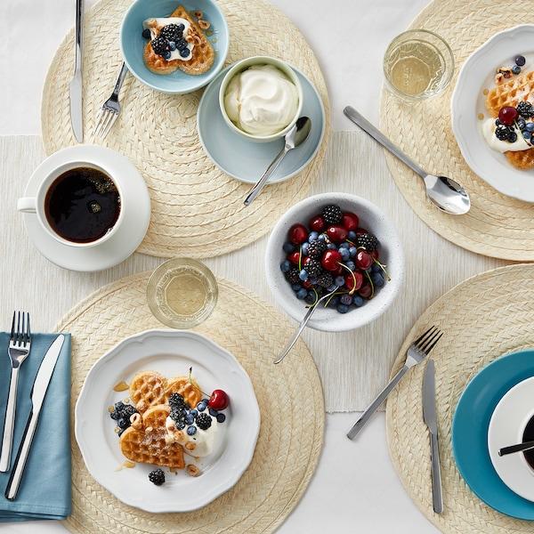 Tischdekoration Sommerfrühstück