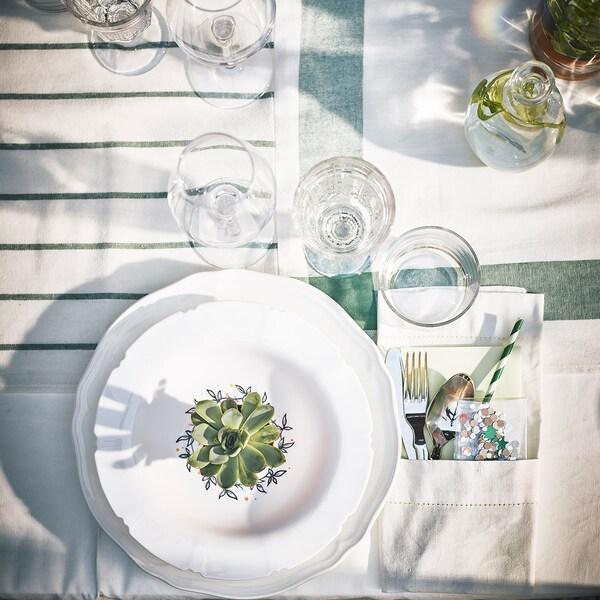 Tischedeko für Hochzeit