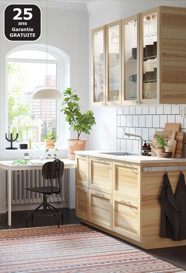 TORHAMN cuisine en bois IKEA