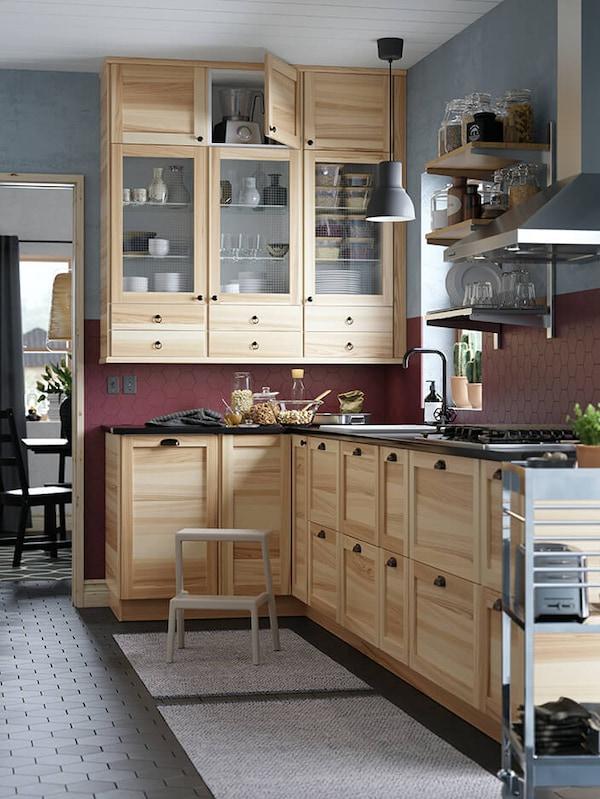 TORHAMN natural ash kitchen