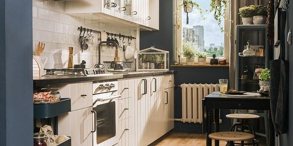 Seria Hittarp Biała Kuchnia Ikea