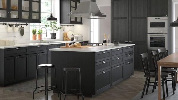 Seria Lerhyttan Czarny Ikea