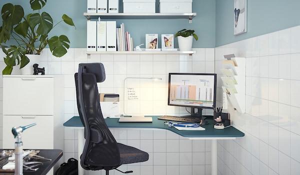 Travail Creatif Au Bureau A Domicile Ikea
