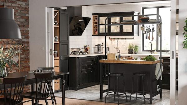 Kuchnia Z Barkiem Pomysly Na Aranzacje Wnetrz Ikea