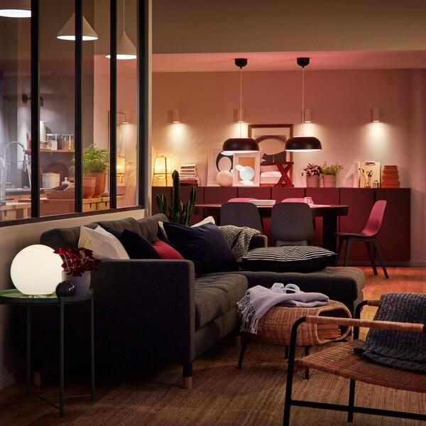Tři způsoby, jak navodit ideální atmosféru pomocí osvětlení LED.