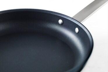 TROVÄRDIG frying pan, golden brown, 28 cm