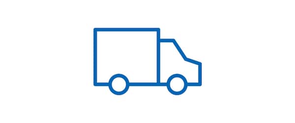 Truck deliveries (including to external Pick-up Points)