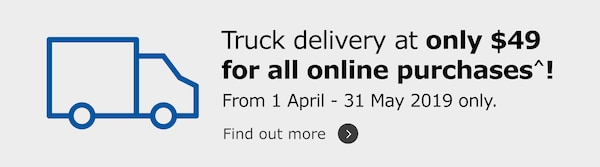 Truck delivery offer