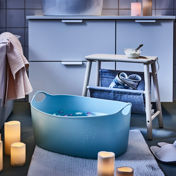 Turn your bathroom into a sanctuary for all senses.