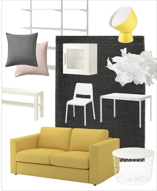 Ikea Restituzione Mobili Usati.Un Soggiorno Completo A Meno Di 1000 Idee Ikea