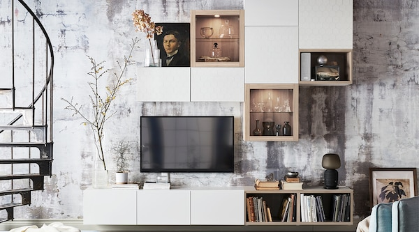 TV stands & media storage planning