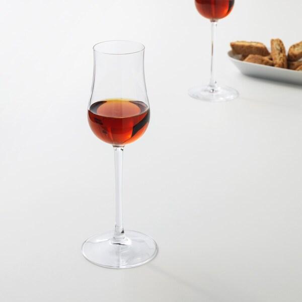 Тюльпанообразный бокал для крепленого вина