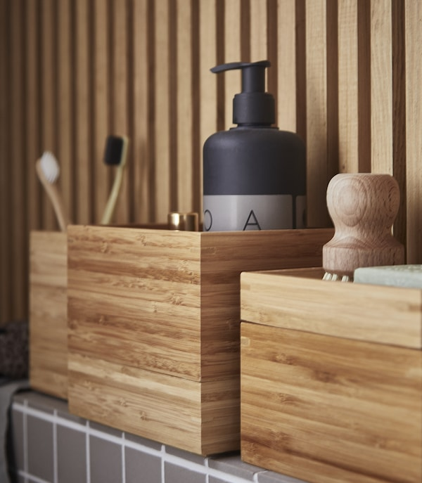 Ukrasi svoj umivaonik bambusom
