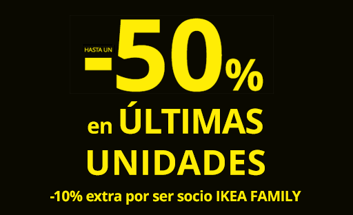 ÚLTIMAS UNIDADES IKEA Madrid