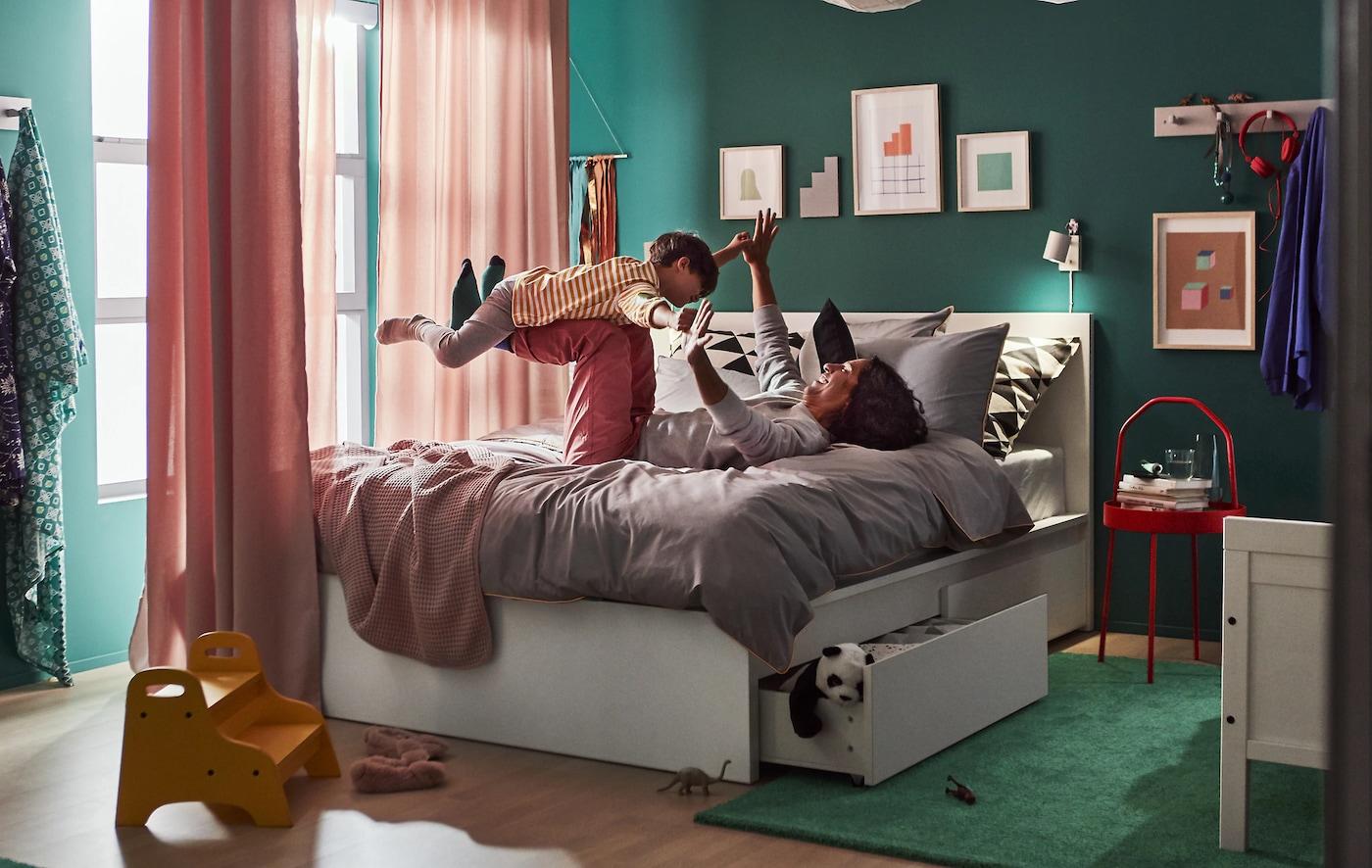 Un apartamento pequeño para una familia de cinco miembros