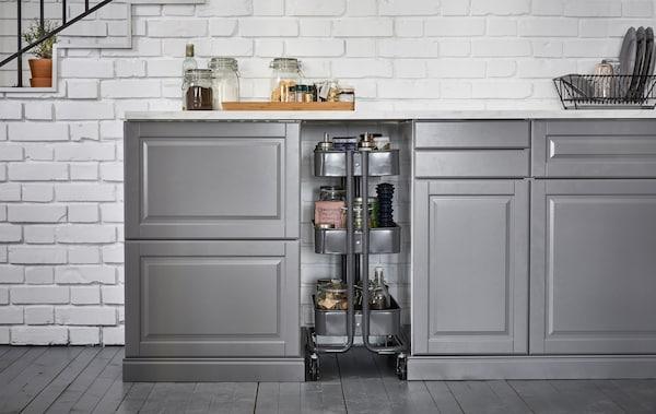 Sfrutta gli spazi inutilizzati in cucina - IKEA