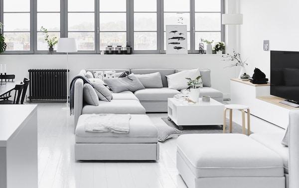 Divani Componibili Ikea.Il Divano Componibile Che Trasforma Il Soggiorno Ikea