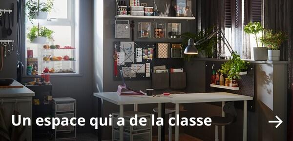 Un espace qui a de la classe